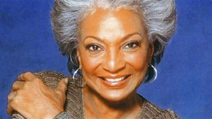 "Nichelle Nichols as she appears today Nichelle Nichols, who played Uhura on the original ""Star Trek"" series will be part of PBS' ""Pioneers of Television,"" premiering on January 18, 2011."