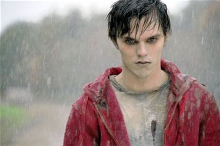 "Nicholas Hoult in ""Warm Bodies"" Nicholas Hoult portrays a zombie known only as R in ""Warm Bodies."""