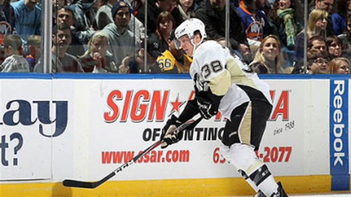 Nick Johnson Penguins forward Nick Johnson is dealing with an upper-body injury.