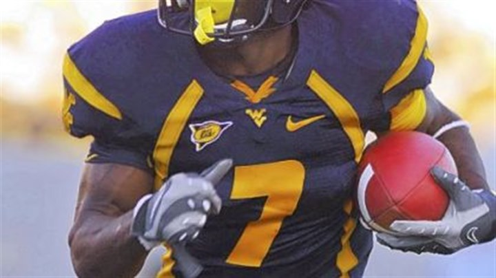 "Noel Devine West Virginia running back Noel Devine on the opening game of the season, ""It is a chance to set an impression."""