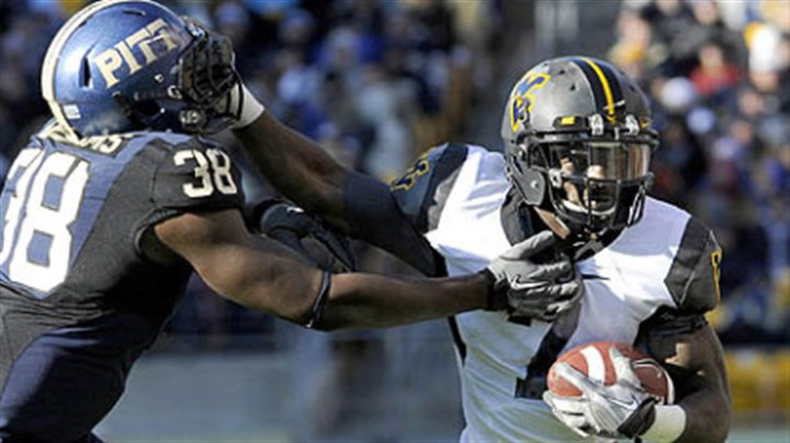 Noel Devine West Virginia running back Noel Devine has rushed for 853 yards this season.