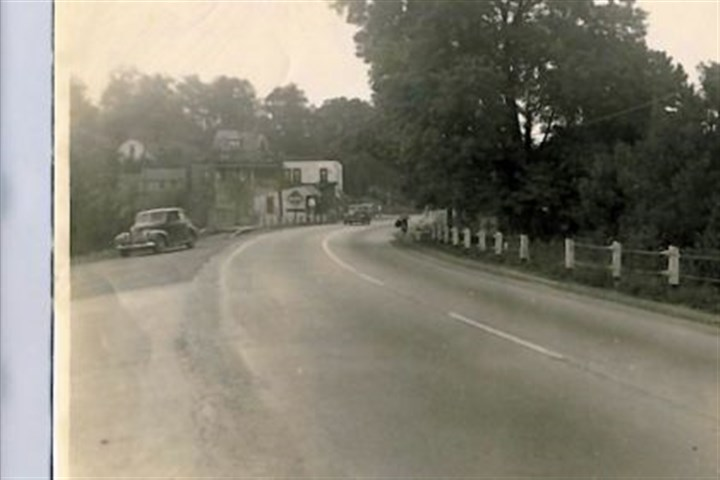 Northgate Drive A historic photo of Northgate Drive near the Brush Creek Inn in Marshall