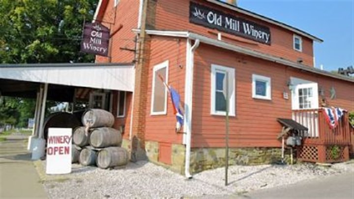 "Old Mill Winery There are 20 wineries on the ""Lake Erie Wines & Vines"" wine trail. The family-owned Old Mill Winery sits on South Broadway in Geneva, across the street from the 18-foot West Liberty Street Bridge, the shortest covered bridge in America."