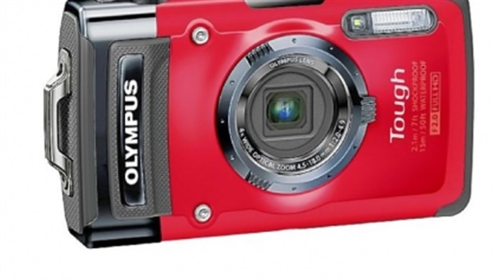 Olympus Tough TG-2 Olympus Tough TG-2 can go underwater to a depth of 50 feet and can take a 7-foot drop without damage.
