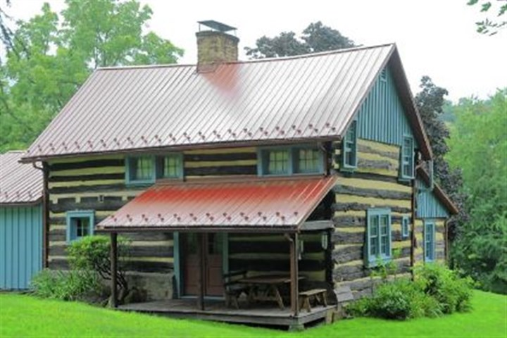 On the tour The Malek family's 1770s cabin is on the Penn Hills Home and Garden Tour.