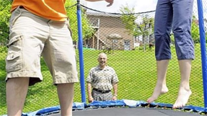 On the trampoline Post-Gazette