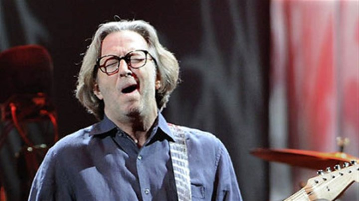 "On top of his game Eric Clapton: ""His reputation as a guitar god was sealed 40 years ago."""