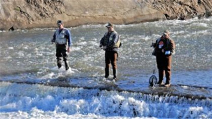 Anglers Enjoy Nearly Ideal Opening Day For Trout Season