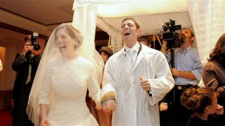 Festive Traditional Jewish Weddings Take Singing And