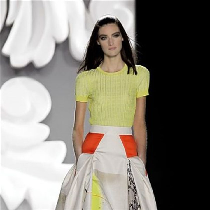 Outfit by Carolina Herrera The Carolina Herrera Spring 2013 collection.