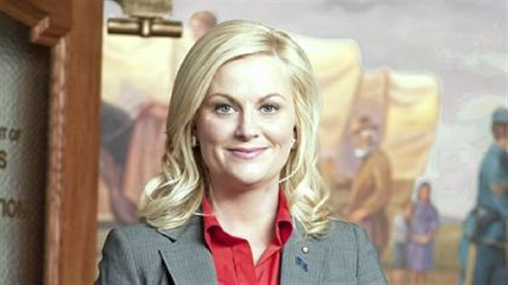 """Parks and Recreation"" Amy Poehler is in charge of the ""Parks,"" a comedy shot in mockumentary style."