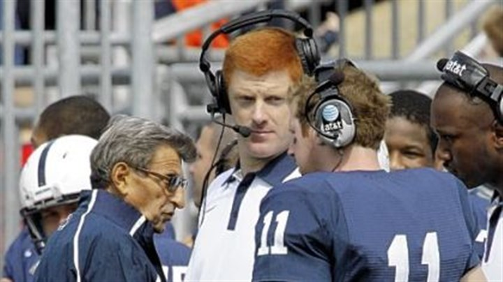 PaternoMcQueary Joe Paterno and assistant coach Mike McQueary will not be coaching today against Nebraska.