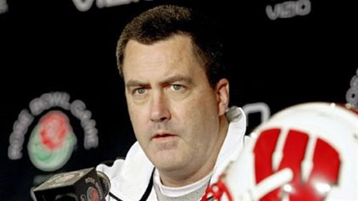 Paul Chryst Wisconsin offensive coordinator Paul Chryst