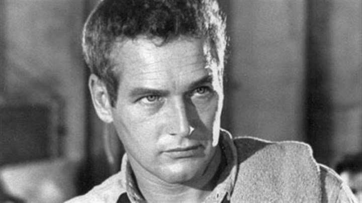 "Paul; Newman, 1968 In this 1968 file photo Paul Newman plays a prisoner who becomes a legend to his fellow members of a chain gang in the film ""Cool Hand Luke."""