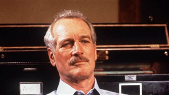 "Paul Newman, 1986 In this 1986 file photo, actor Paul Newman appears in character for the film ""The Color of Money."""