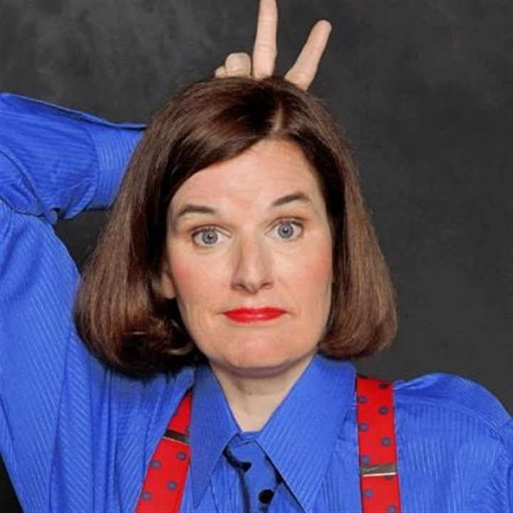 Paula Poundstone Paula Poundstone describes her stand-up style as visiting a friend you haven't seen for a long time.