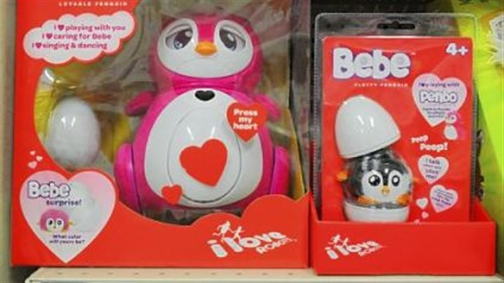 """Penbo"" and ""Bebe"" ""Penbo"" and ""Bebe"" by Oakland company Bossa Nova Robotics are on the shelves in major retailers."