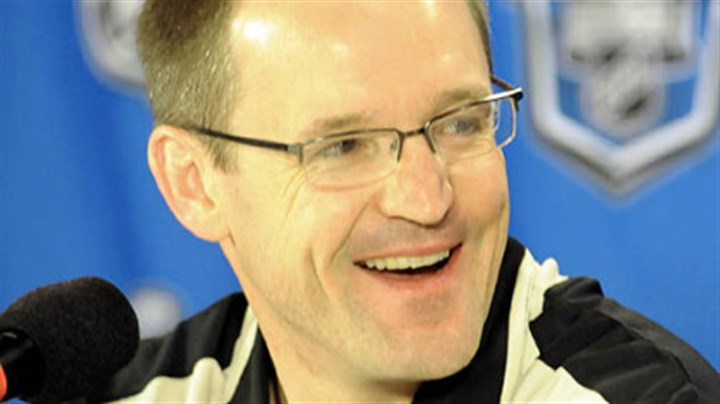 Penguins coach Dan Bylsma Penguins coach Dan Bylsma at yesterday's news conference