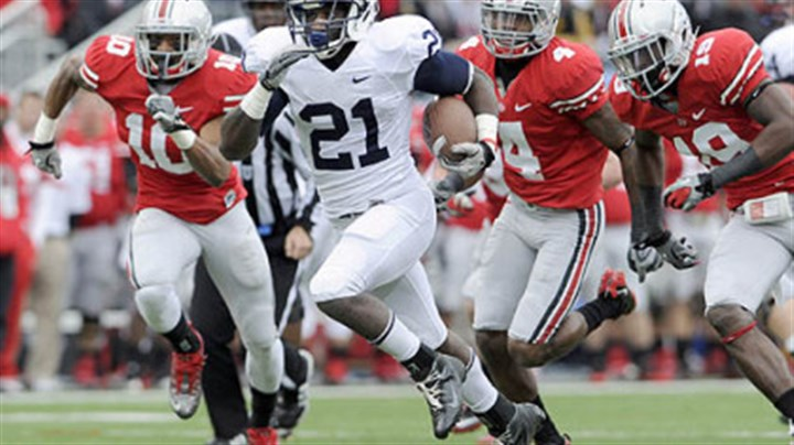 Penn State's Stephfon Green Penn State's Stephfon Green runs for a touchdown against Ohio State in the first quarter Saturday.