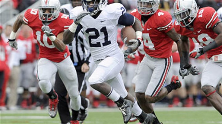 Penn State's Stephfon Green Penn State's Stephfon Green runs for a touchdown against Ohio State in the first quarter.