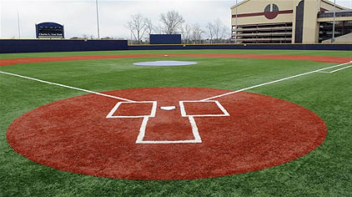 Petersen Sports Complex The new baseball field at Pitt's Petersen Sports Complex.
