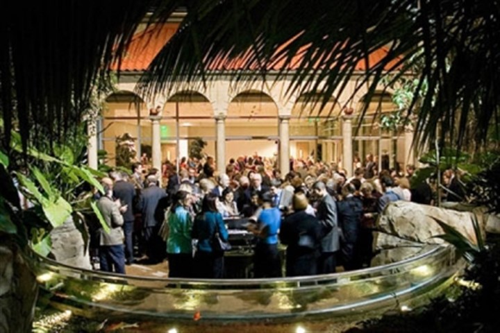"Phipps party February's ""Party in the Tropics"" at Phipps Conservatory and Botanical Gardens saw a crowd of about 250 in attendance."