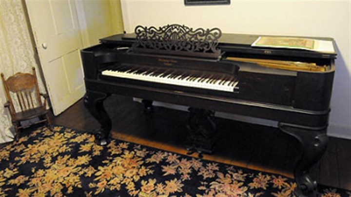 Piano A pre-1900 Steinway & Sons grand piano will be on auction at Rachel Carson Homestead in Springdale.
