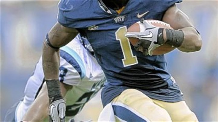 Pitt's Ray Graham Pitt's Ray Graham had another big day with 121 yards and three touchdowns in the win vs. Maine.