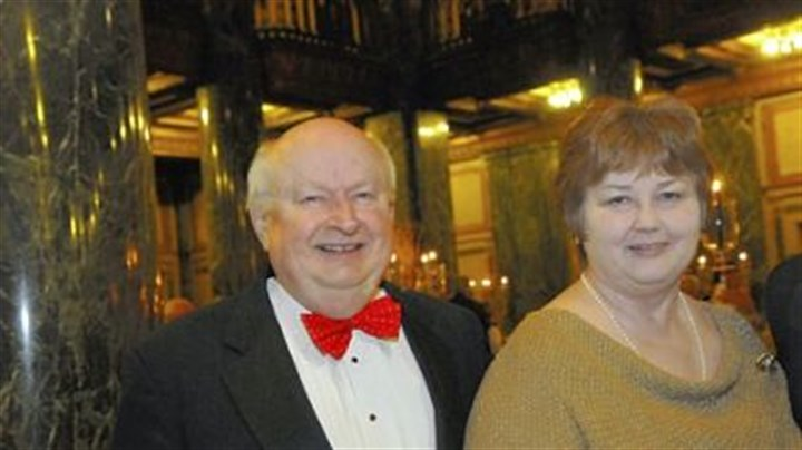 Pittsburgh Opera's Auld Land Syne New Year's Eve Woody and Mary Turner.