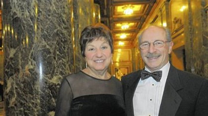 Pittsburgh Opera's Auld Land Syne New Year's Eve Nancy and John Traina.