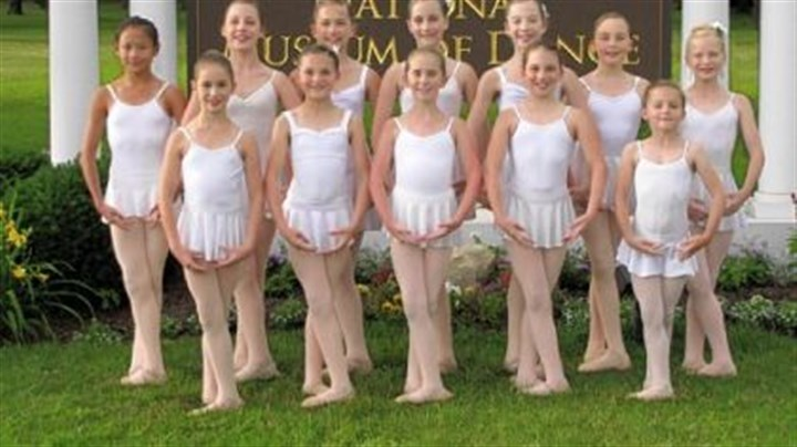 Pittsburgh Youth Ballet Company dancers From left, back row: Brooke Marynak of Peters; Autumn Graham of Mt. Lebanon; Sydney Borandi of Bethel Park; Tia Watts of Upper St. Clair; Lucy Merz of Squirrel Hill; Rachael Nash of Friendship; Erin Leach of Mt. Lebanon; front row: Grace Millet of Mt. Lebanon; Aliyah Busselberg of Mt. Lebanon; Cami McKeever of Mt. Lebanon; Madison Miller of Bethel Park; Marin Busselberg of Mt. Lebanon.