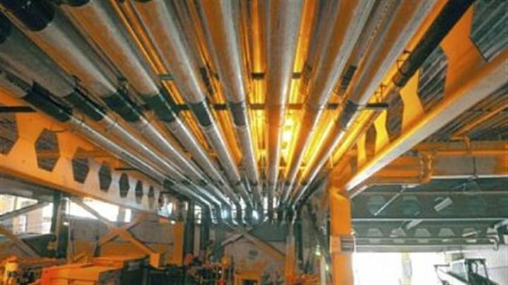 Upmc constructing underground pneumatic tubes to link