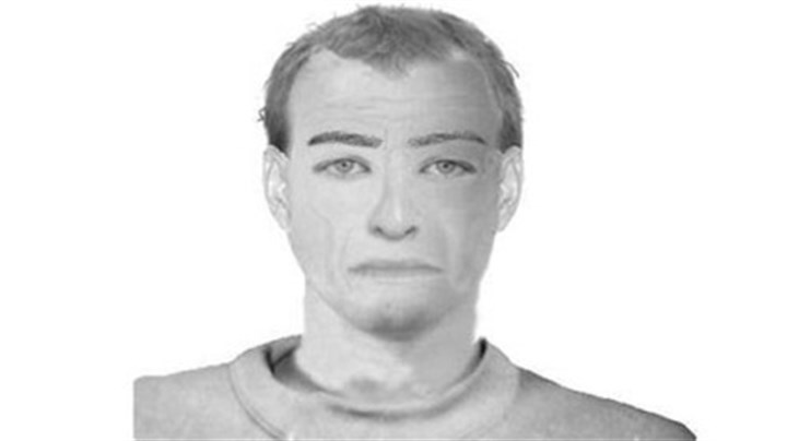 Police sketch The Pittsburgh police sketch of bicyclist Colin Albright's attacker