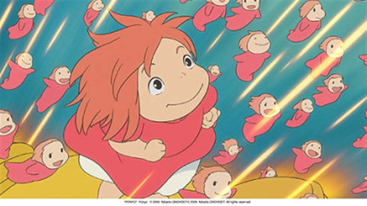 """Ponyo"" Noah Lindsey Cyrus provides the voice of ""Ponyo,"" a goldfish who falls in love with a human boy."