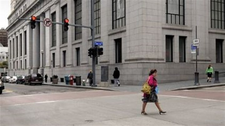 Purchased The former Lord & Taylor and Mellon Bank building at Smithfield Street and Fifth Avenue.