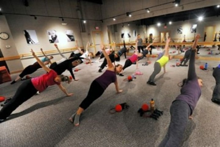 Pure Barre The new fitness craze Pure Barre in Shadyside.