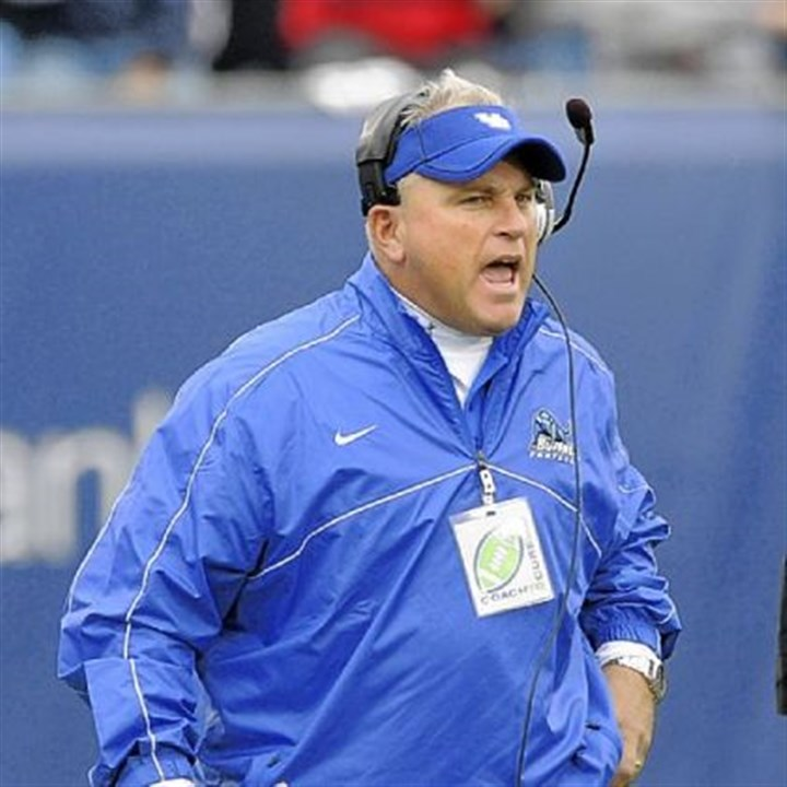 quinn Buffalo coach Jeff Quinn circled a game Saturday against Pitt as a win that could spark his team to turn around its 1-5 record.