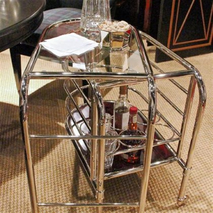 Ralph Lauren Home bar cart Ralph Lauren Home bar cart from Apartment No. One Collection. The collection is inspired by the residence at Kensington Palace where Prince William and Kate will live.