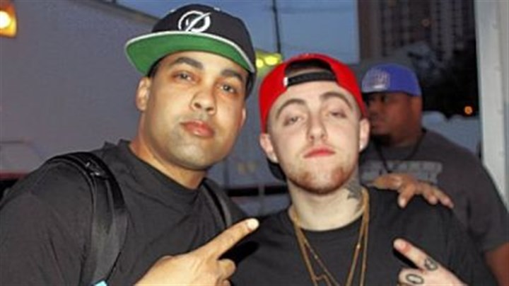 Rappers Jasiri X and Mac Miller Rappers Jasiri X and Mac Miller at SXSW Conference in March.