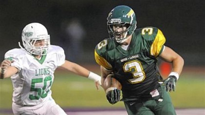 Rebels Football Washington will try to stop Seton-LaSalle receiver Scott Orndoff, a Pitt recruit, Friday night.