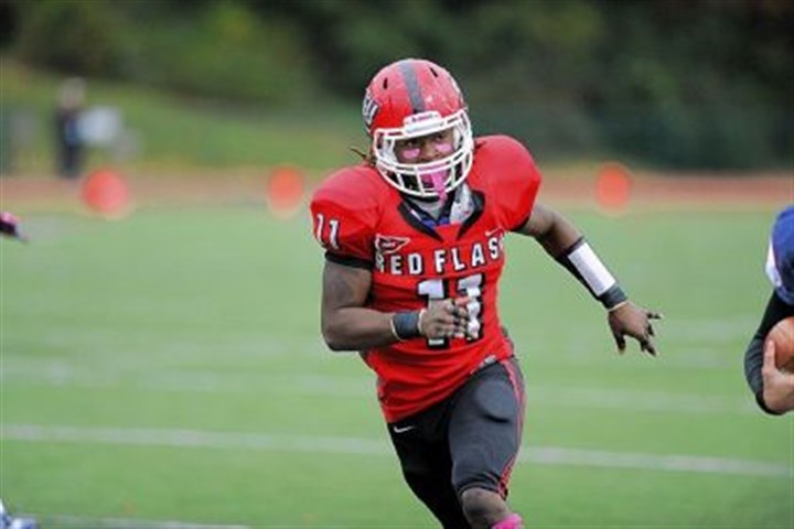 Red Flash Although he measures just 5 feet 11, 191 pounds, Clairton grad Bishop Neal is a force at linebacker for Saint Francis.