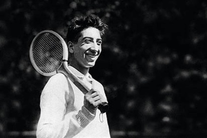 Rene Lacoste French tennis player Rene Lacoste, circa 1926, was the creator of the Lacoste polo shirt.