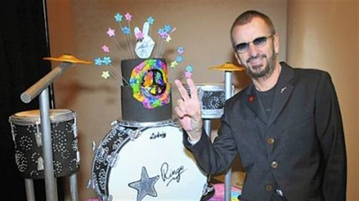Ringo Starr Ringo Starr of the Beatles celebrates his 72nd birthday backstage at The Ryman Auditorium in Nashville on Saturday while on tour with his 2012 All Starr Band.