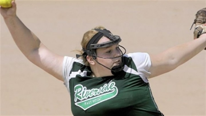 Riverside Pitcher Riverside starting pitcher Kirsten Wilson just doesn't give up many runs.