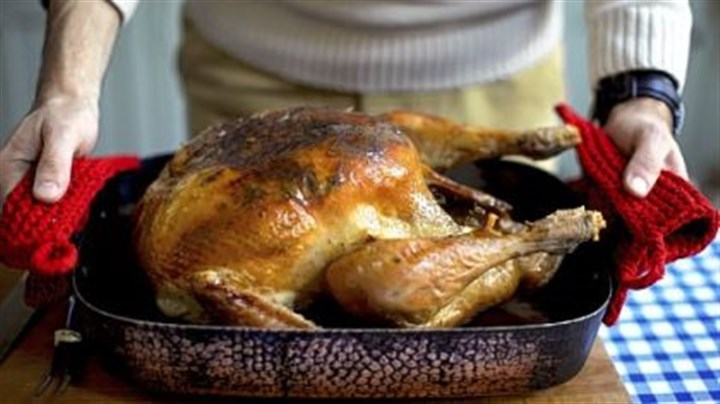 Roast turkey Roast turkey from Pippa Middleton book.