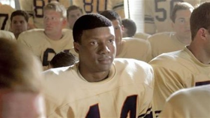 "Rob Brown in 'The Express' Rob Brown as college football hero Ernie Davis in ""The Express."""