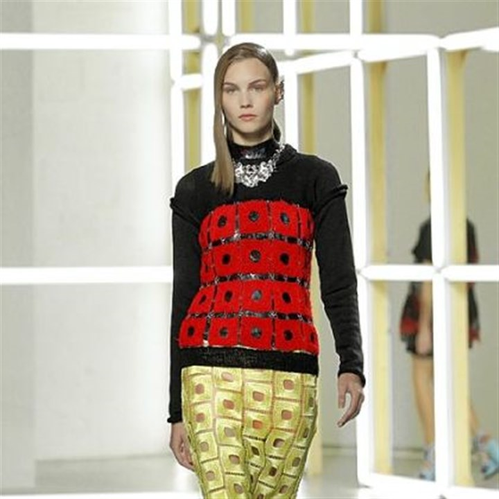 Rodarte Spring 2013 collection Rodarte Spring 2013 collection.