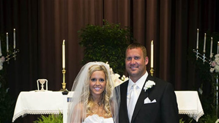 Roethlisberger wedding Mr. and Mrs. Ben Roethlisberger