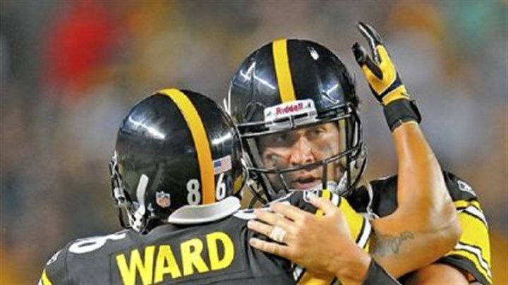 "Roethlisberger Quarterback Ben Roethlisberger called Hines Ward, who was released Wednesday, to thank him for his time with the Steelers. ""Hines is Black and Gold,"" Roethlisberger said."