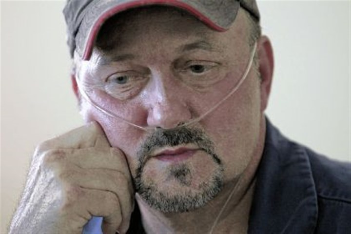 Roger Cook is a former coal miner Roger Cook is a former coal miner who has black lung.